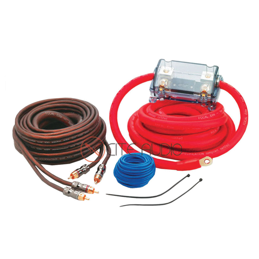 Focal EK35 100% Oxygen Free Copper Elite Premium Amplifier Wiring Kit (35mm2 - 2 AWG) - Xcite Audio