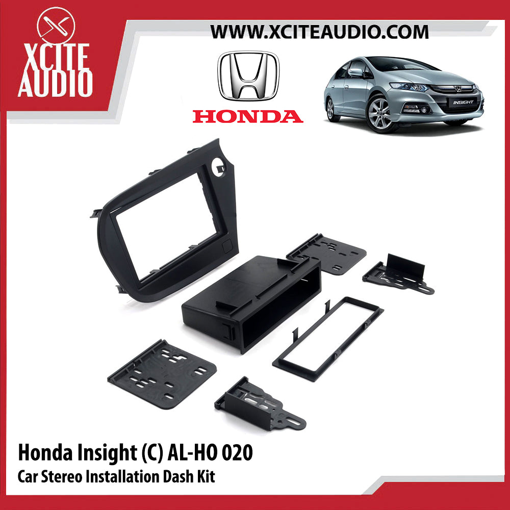 Honda Insight AL-HO020 Double-Din Car Stereo Installation Dash Kit Fascia Kit Car Player Casing Mounting Kit - Xcite Audio