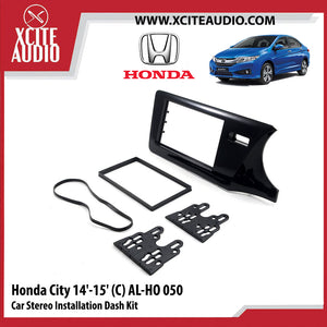 Honda City 2014-2015 AL-HO050 Double-Din Car Stereo Installation Dash Kit Fascia Kit Car Player Casing Mounting Kit - Xcite Audio