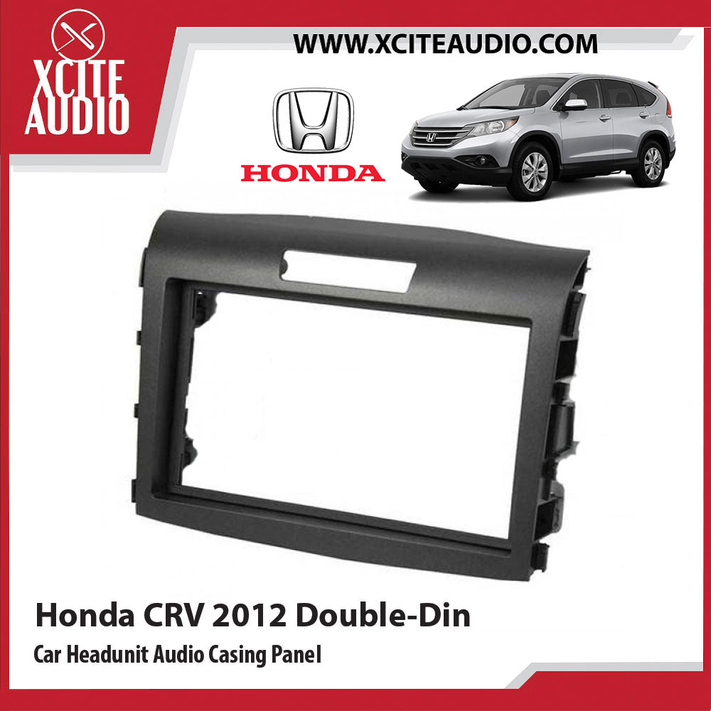 Honda CRV 2012 Double-Din Car Headunit / Player / Stereo Audio Casing Panel - Xcite Audio