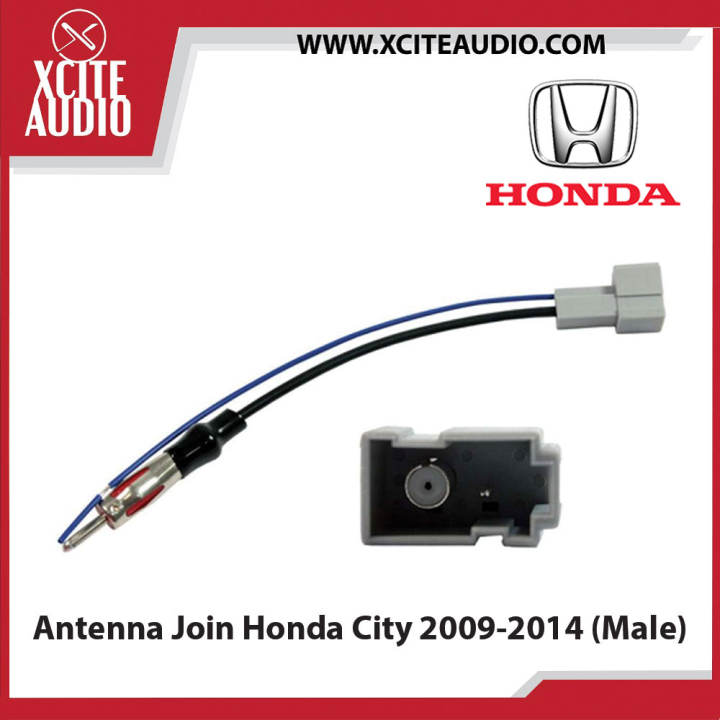 Honda City 2009-2017 ISO Plug and Play Antenna Join (Male) - Xcite Audio