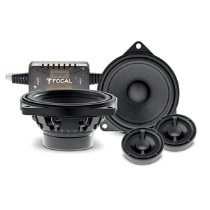 "Focal Car Audio Bundle Package Set 6 for BMW 5 Series F07 (Grand Tourismo GT 09-17) (1 x IS BMW 100 5"" Component Car Speakers + 1 x IC BMW 100 5"" Coaxial Car Speakers) - Xcite Audio"