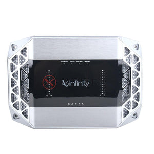 "Infinity Kappa Perfect 600 6.5"" 2-Way Component Car Speakers FOC Infinity Kappa K4 4-CH Car Amplifier with Bluetooth - Xcite Audio"