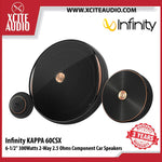 "Infinity KAPPA 60CSX 6-1/2"" (160mm) 300Watts Peak 2-Way 2.5 Ohms Component Car Speaker with Gap Switchable Crossover - Xcite Audio"