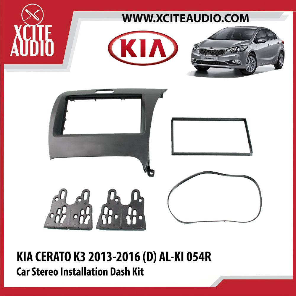 Kia Cerato K3 2013-2016 (D) AL-KI 054R Double-Din Car Stereo Installation Dash Kit Fascia Kit Car Headunit Player Casing