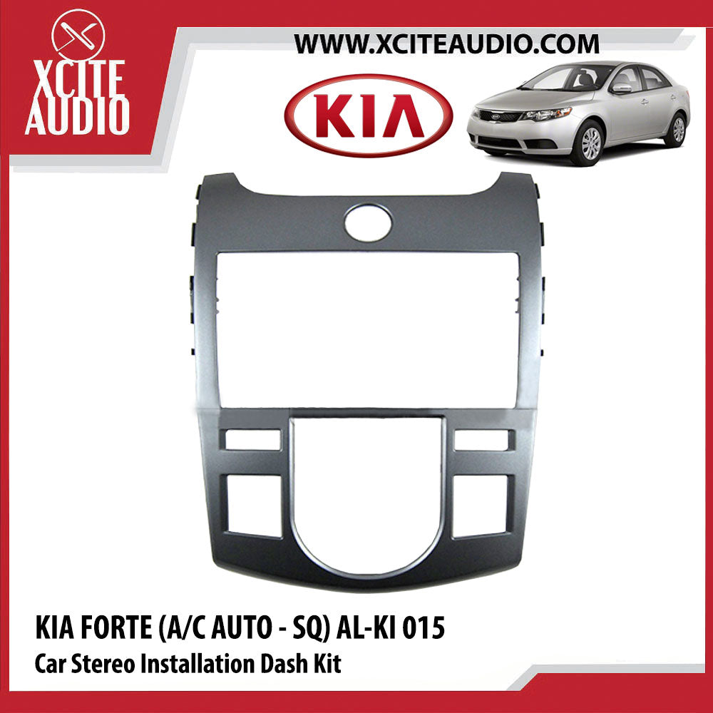 Kia Forte (A/C AUTO - SQ) AL-KI 015 Double-Din Car Stereo Installation Dash Kit Fascia Kit Car Headunit Player Casing