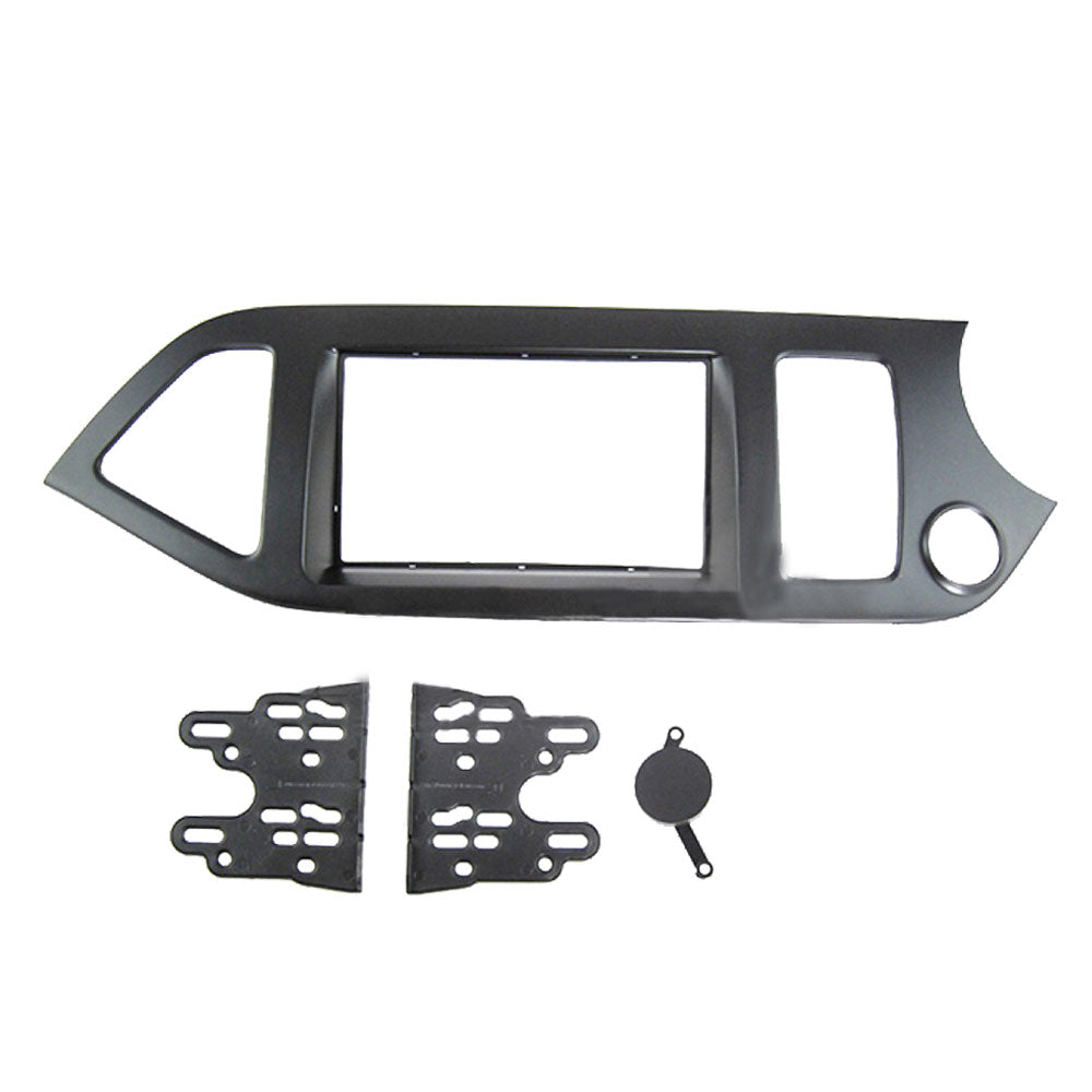 Kia Picanto 2011 AL-KI 029 Double-Din Car Stereo Installation Dash Kit Fascia Kit Car Headunit Player Casing - Xcite Audio