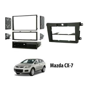 Mazda CX-7 2008-2009 MA-1533B/MAZ-K847 Double-Din Car Stereo Installation Dash Kit Fascia Kit Car Player Casing Mounting Kit - Xcite Audio