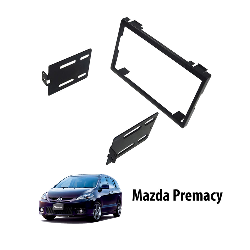 Mazda Premacy 2001-2007 AN-09M02/MA-1538T Double-Din Car Stereo Installation Dash Kit Fascia Kit Car Player Casing Mounting Kit - Xcite Audio