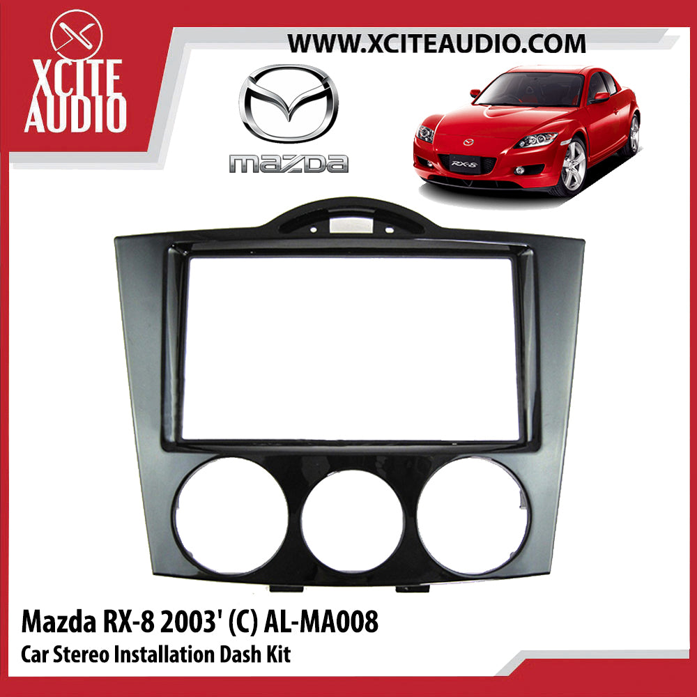 Mazda RX-8 2003 AL-MA008 Double-Din Car Stereo Installation Dash Kit Fascia Kit Car Player Casing Mounting Kit - Xcite Audio