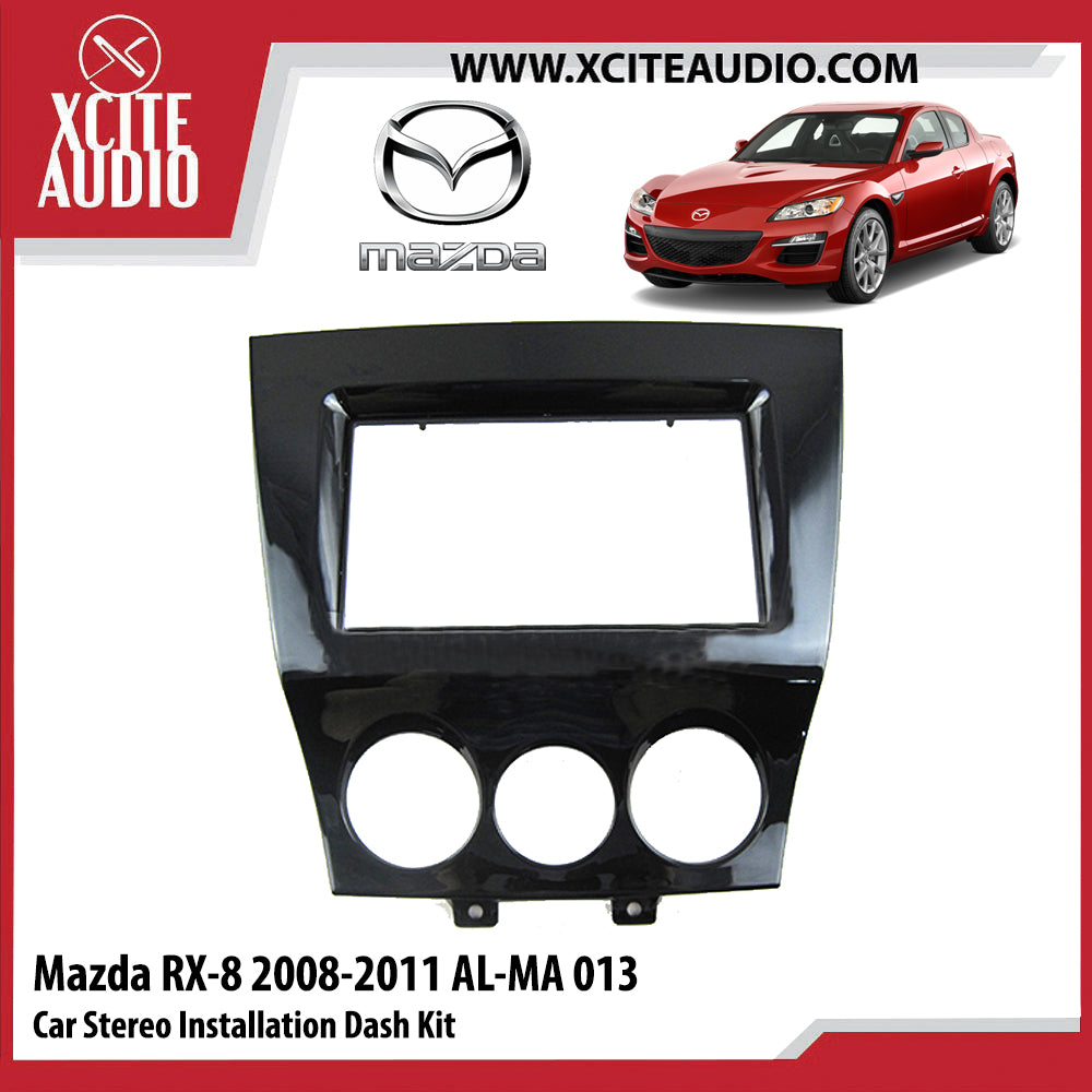 Mazda RX-8 2008-2011 AL-MA013 Double-Din Car Stereo Installation Dash Kit Fascia Kit Car Player Casing Mounting Kit - Xcite Audio