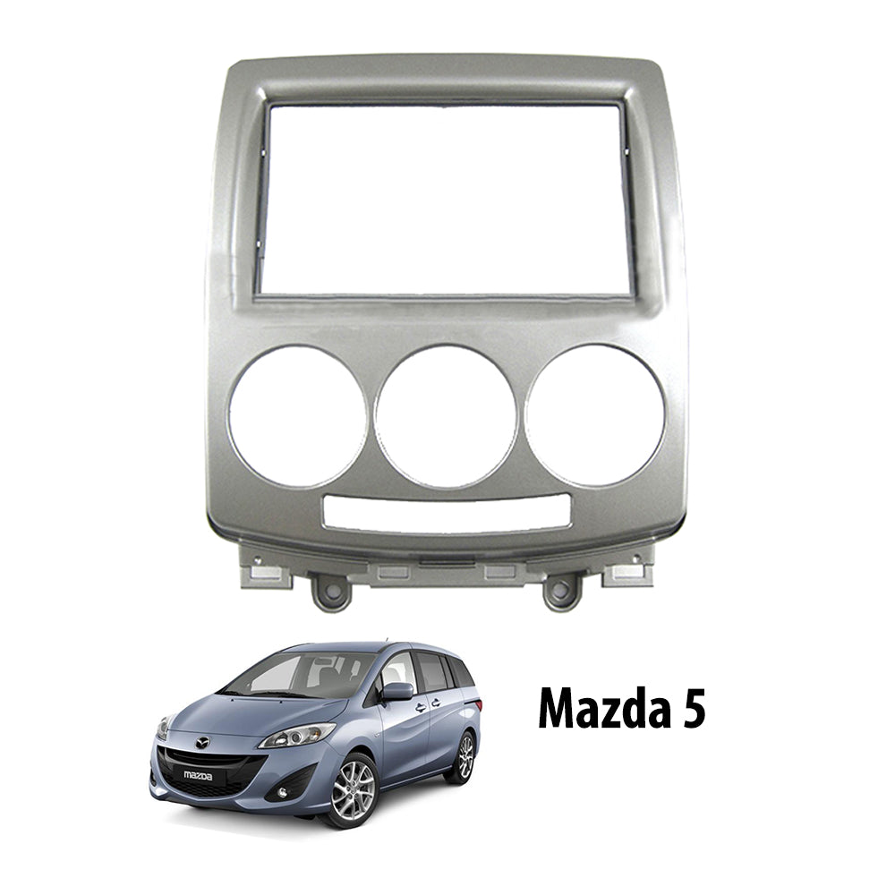 Mazda 5 2005-2011 AL-MA022 Double-Din Car Stereo Installation Dash Kit Fascia Kit Car Player Casing Mounting Kit - Xcite Audio