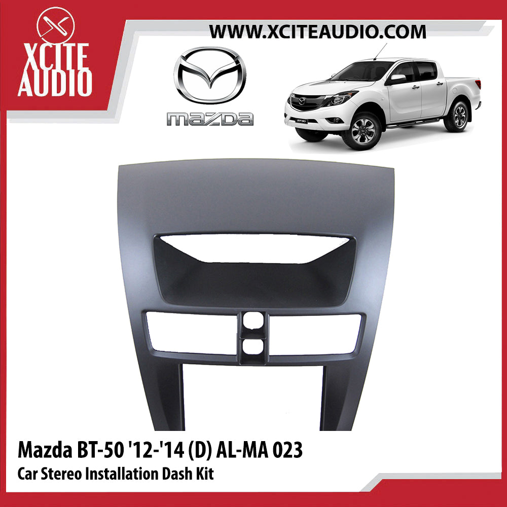 Mazda BT-50 2012-2014 AL-MA023 Double-Din Car Stereo Installation Dash Kit Fascia Kit Car Player Casing Mounting Kit - Xcite Audio