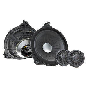 "Eton Car Audio Bundle Package Set 1 for Mercedes-Benz GLC & C-Class & E-Class (1 x MB100F 4"" Component Car Speakers + 1 x MB100RX 4"" Coaxial Car Speakers) - Xcite Audio"