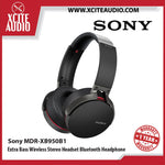 Sony MDR-XB950B1 Extra Bass Wireless Stereo Headset Bluetooth Headphone (Black/Blue/Red) - Xcite Audio