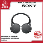 Sony MDR-XB950N1 Wireless Noise Cancelling Stereo Headset Extra Bass Headphone (Black) - Xcite Audio