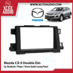 Mazda CX-9 Year 07-15 Double Din Car Headunit / Player / Stereo Audio Casing Panel - Xcite Audio