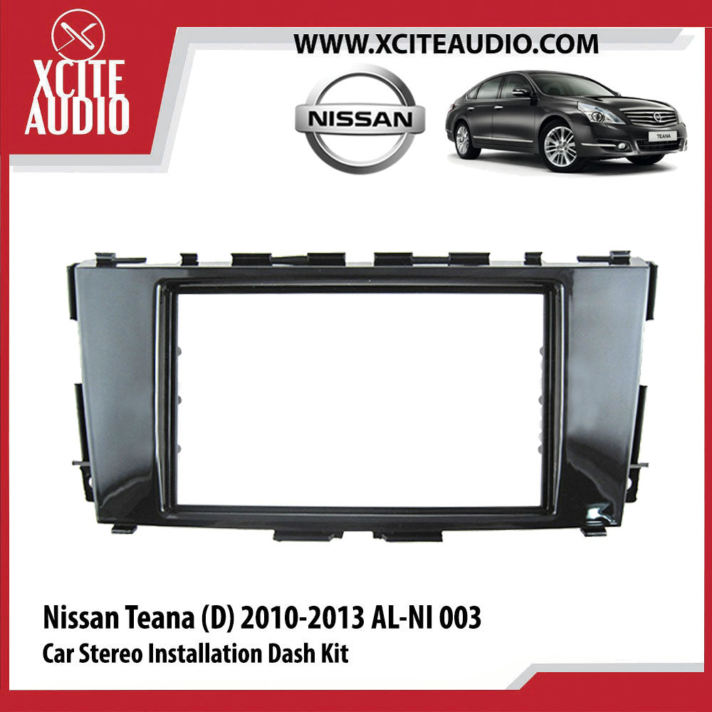 Nissan Teana (D) 2010-2013 AL-NI 003 Double-Din Car Stereo Installation Dash Kit Fascia Kit Car Headunit Player Casing