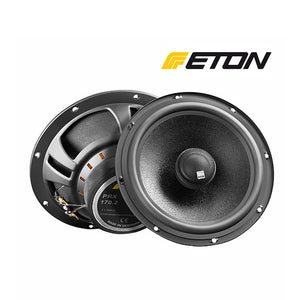 "ETON PRX170.2 6.5"" (16.5cm) 2-Way 100Watts Max Power Coaxial Car Speakers - Xcite Audio"
