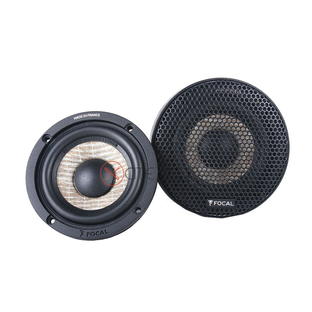 "Focal PS 165 F3 6.5"" 3-Way Expert Series 160Watts Component Car Speakers - Xcite Audio"