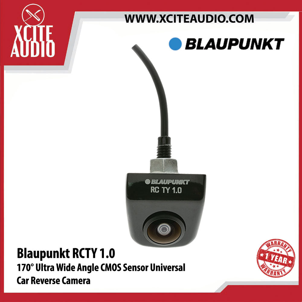 Blaupunkt RCTY 1.0 170° CMOS Sensor 5-Layer Glass Car Reverse Camera Suitable for Toyota Factory Player