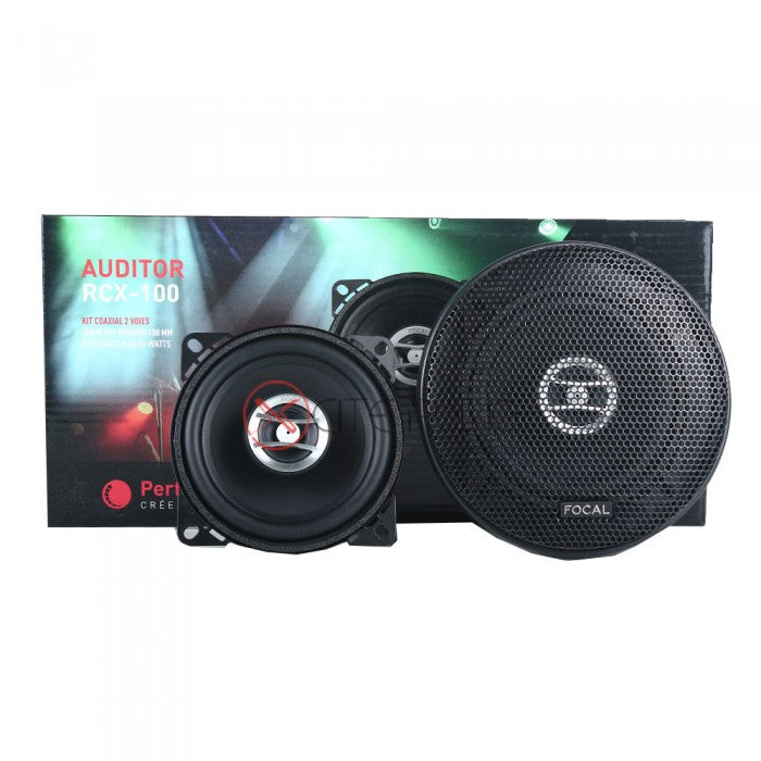 "Focal Auditor Series RCX-100 4"" 2-Way 60W Coaxial Car Speakers - Xcite Audio"