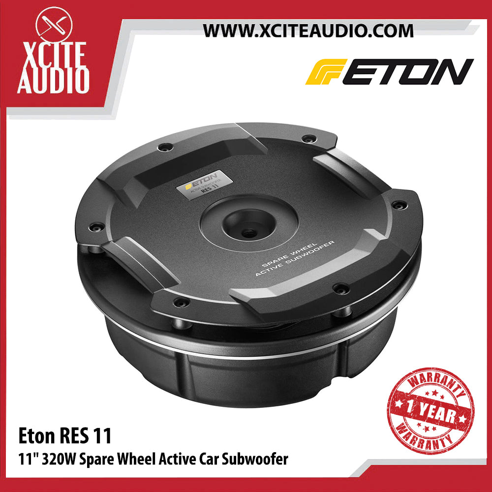 "Eton RES11 11"" 320Watts Spare Wheel Active Car Subwoofer - Xcite Audio"