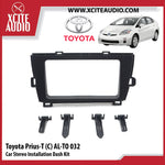 Toyota Prius-T AL-TO032 Double-Din Car Stereo Installation Dash Kit Fascia Kit Car Player Casing Mounting Kit - Xcite Audio
