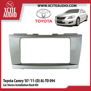 Toyota Camry 2007-2011 AL-TO094 Double-Din Car Stereo Installation Dash Kit Fascia Kit Car Player Casing Mounting Kit - Xcite Audio