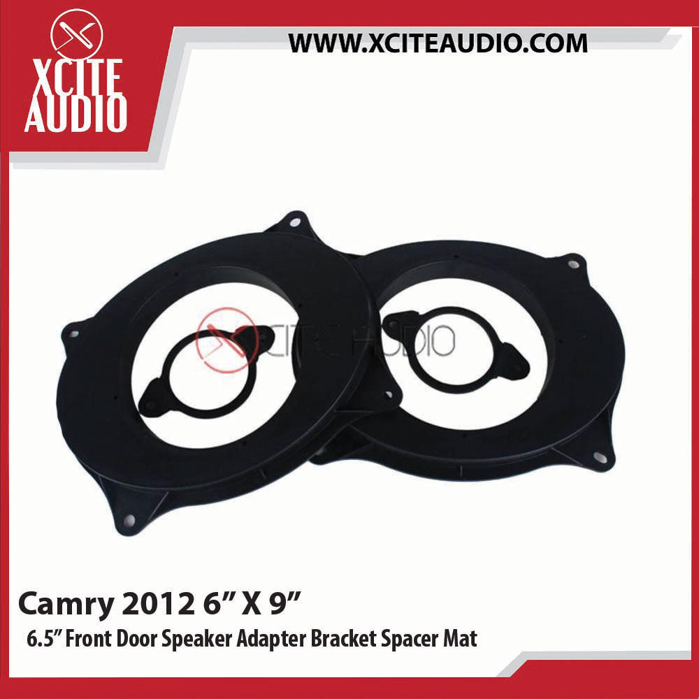 "Toyota Camry 2012 6"" x 9""  Modify to 6.5"" Car Front Door Speaker Adapter Bracket Spacer Mat - Xcite Audio"