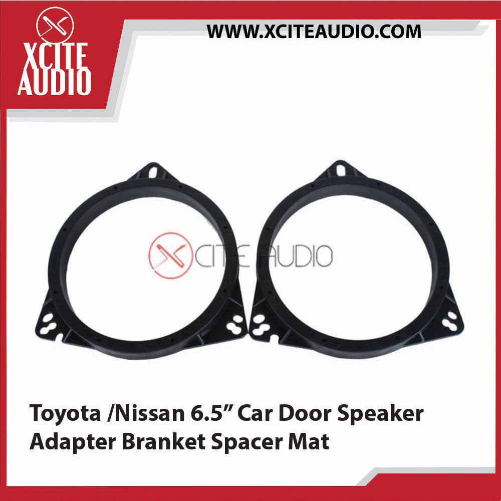 "Toyota / Nissan 6.5"" Car Door Speaker Adapter Bracket Spacer Mat - Xcite Audio"