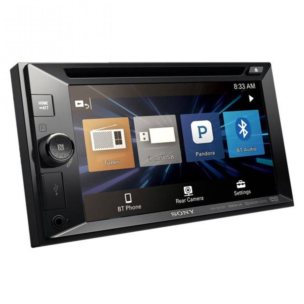 "Sony XAV-W651BT 6.2"" Media receiver with Bluetooth Android Apple Siri Eyes DVD Car Headunit"