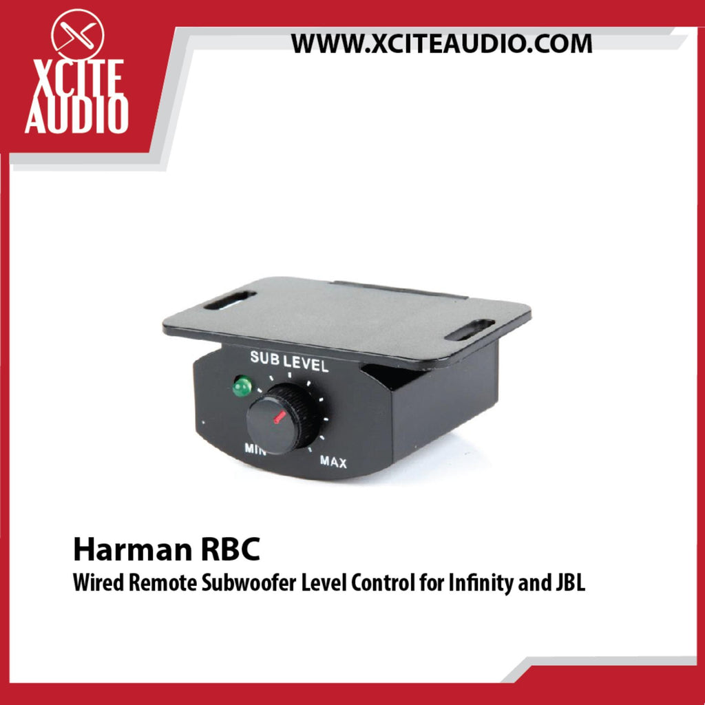 Harman RBC Wired Remote Subwoofer Level Control for Infinity and JBL - Xcite Audio