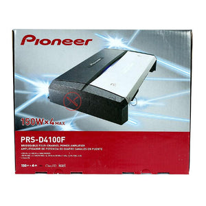 Pioneer PRS-D4100F 4/3/2 Channel 1200W Bridgeable Amp Class FD Car Amplifier - Xcite Audio
