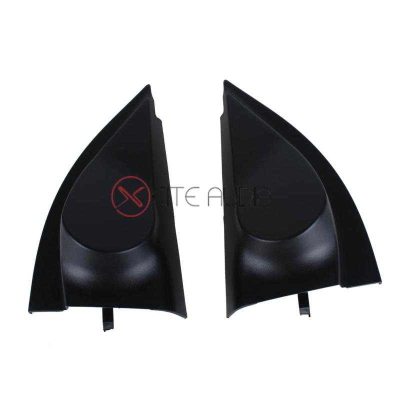 2008 Toyota Vios Door Angle Cums Tweeter Refitting Cover Stereo Installation - One Pair - Xcite Audio