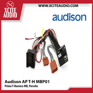 Audison AP T-H MBP01 Prima T-Harness Mercedes-Benz, Porsche - Xcite Audio