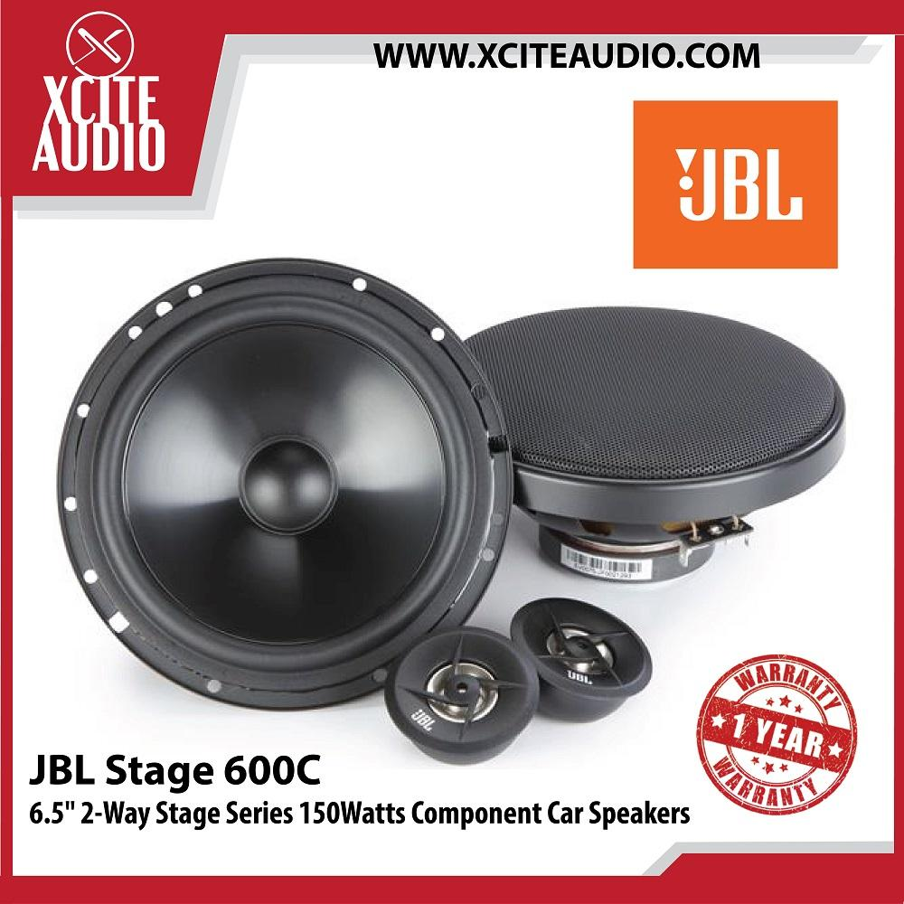 JBL Stage 600C 6.5  2-Way Stage Series 150Watts Component Car Speakers - Xcite Audio