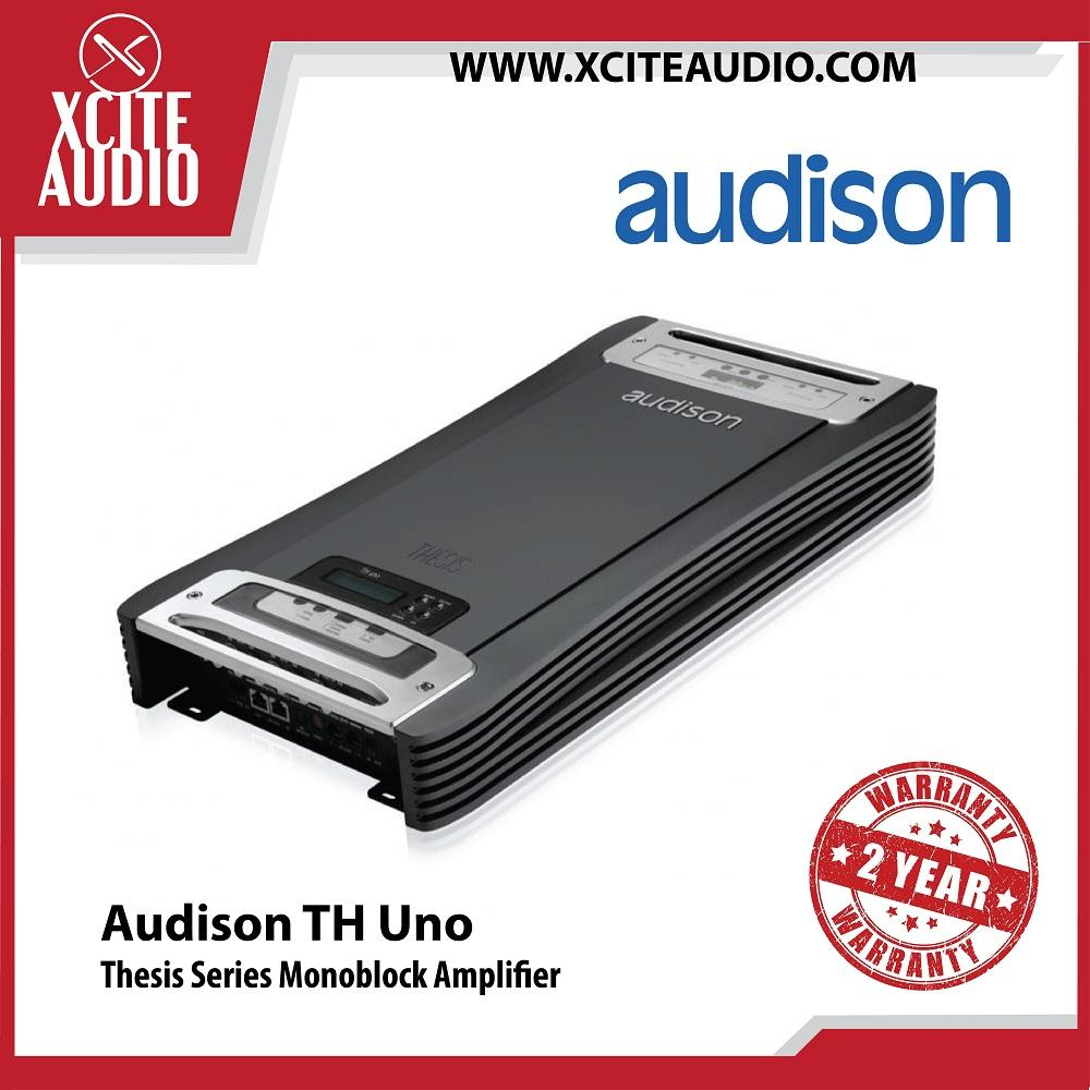 Audison Thesis Series TH uno Monoblock 1-CH Car Amplifier