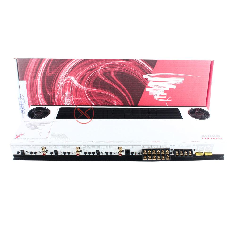 Audio System F6-360 Twister Series High Grade Sound Performance 360W 6-Channel Car Amplifier