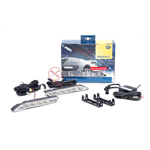 Genuine HELLA LEDayline 6 Dayline Running Lights 12V Complete DRL Kit - Xcite Audio