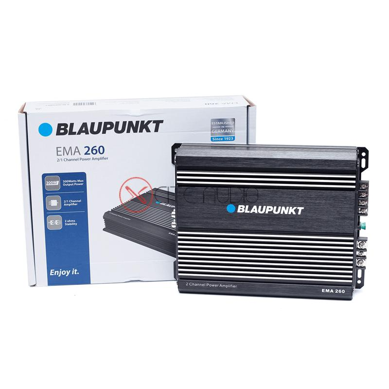 Blaupunkt EMA 260 2 Channel Class AB 300W Bridgeable Car Amplifier