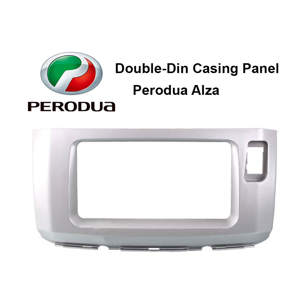 Perodua Alza Double Din Car Headunit / Player / Stereo Audio Casing Panel