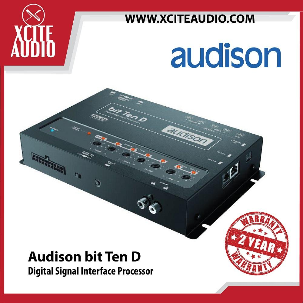 Audison bit Ten D Digital Signal Interface Processor Car Sound Processor