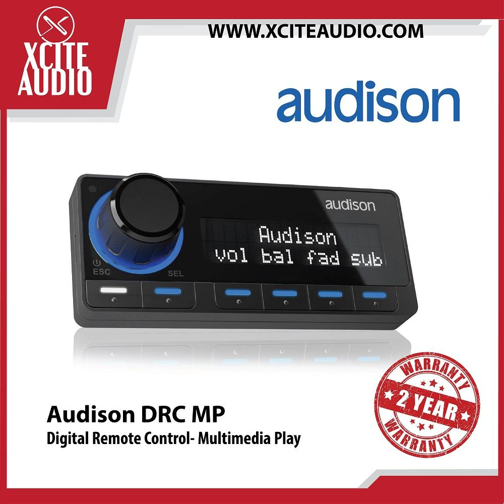 Audison DRC MP Digital Remote Control- Multimedia Play