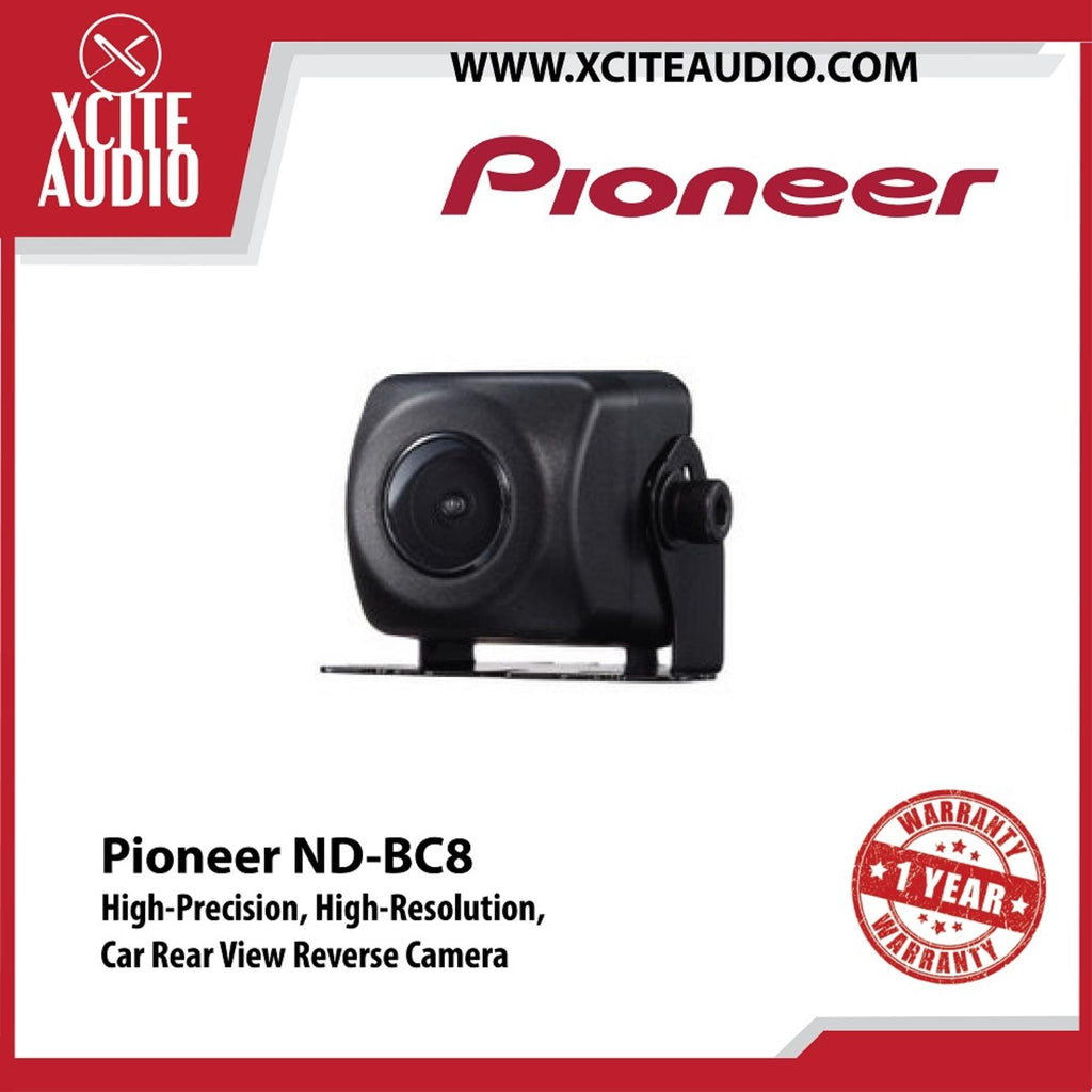 Pioneer ND-BC8 High-Precision High-Resolution Rear View Camera Car Reverse Camera - Xcite Audio