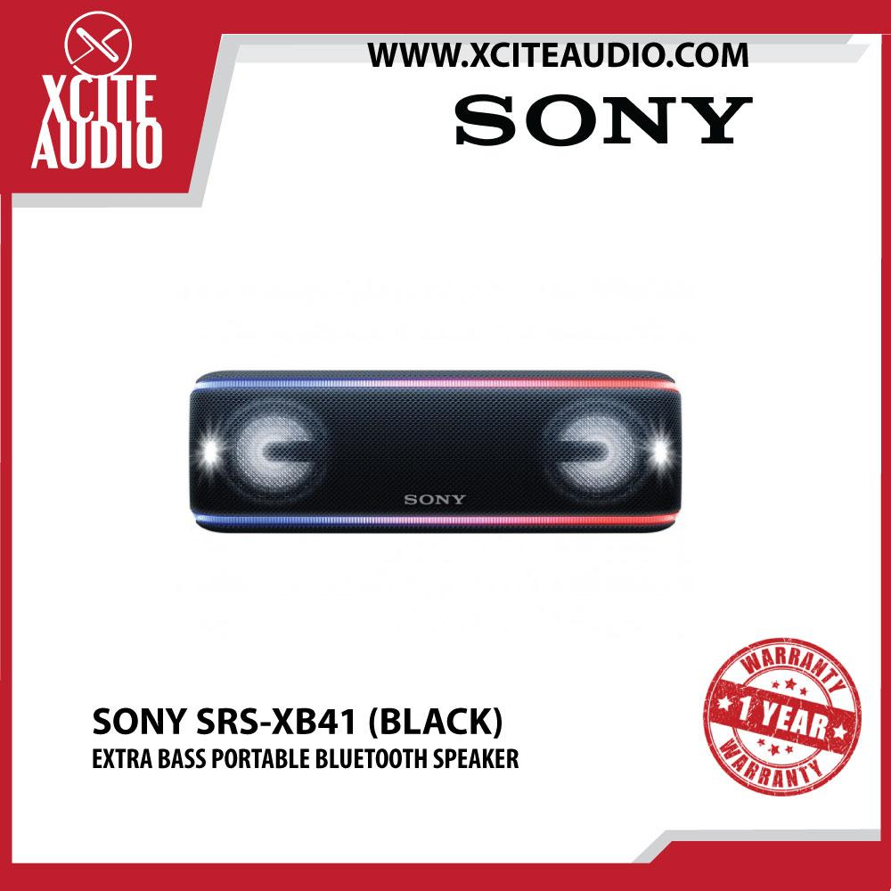 Sony SRS-XB41 EXTRA BASS Portable BLUETOOTH Speaker - Xcite Audio
