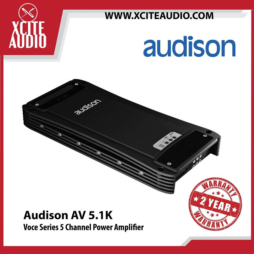 Audison Voce Series AV 5.1K 5 Channel Power Amplifier Car Amplifier