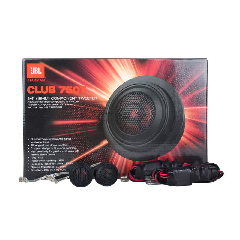 "JBL Club 750T 3/4""(19mm) Club-Series 135Watts Peak Balanced Dome Car Tweeters - Xcite Audio"