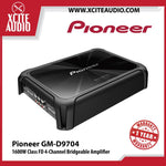 Pioneer GM-D9704 1600Watts Max Class-FD 4-Channel Bridgeable Car Amplifier - Xcite Audio