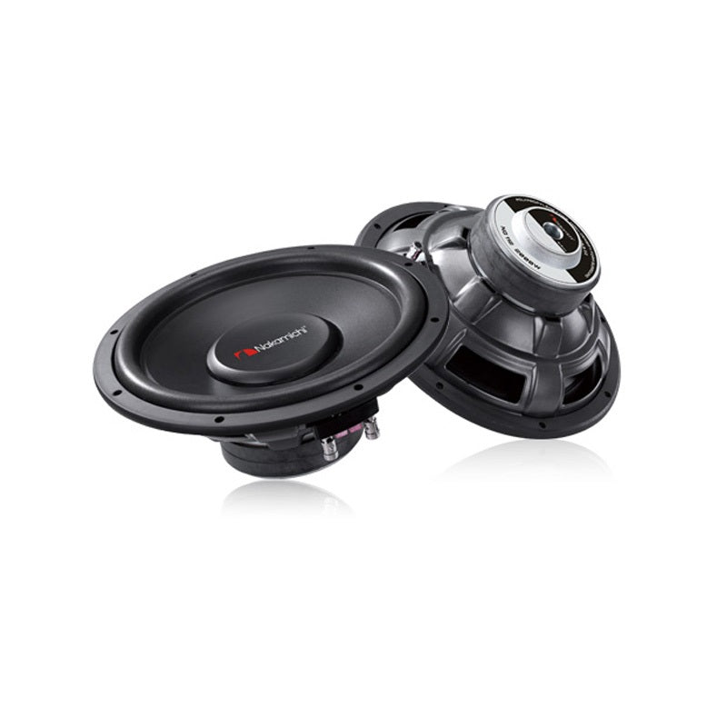 "Nakamichi NS-W125 12"" 2500Watts Peak 4 Ohms Single Voice Coil Car Subwoofer - Xcite Audio"